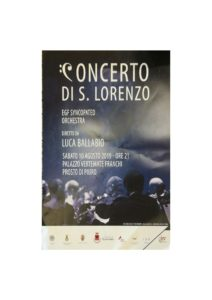 locandina concerto 10 agosto